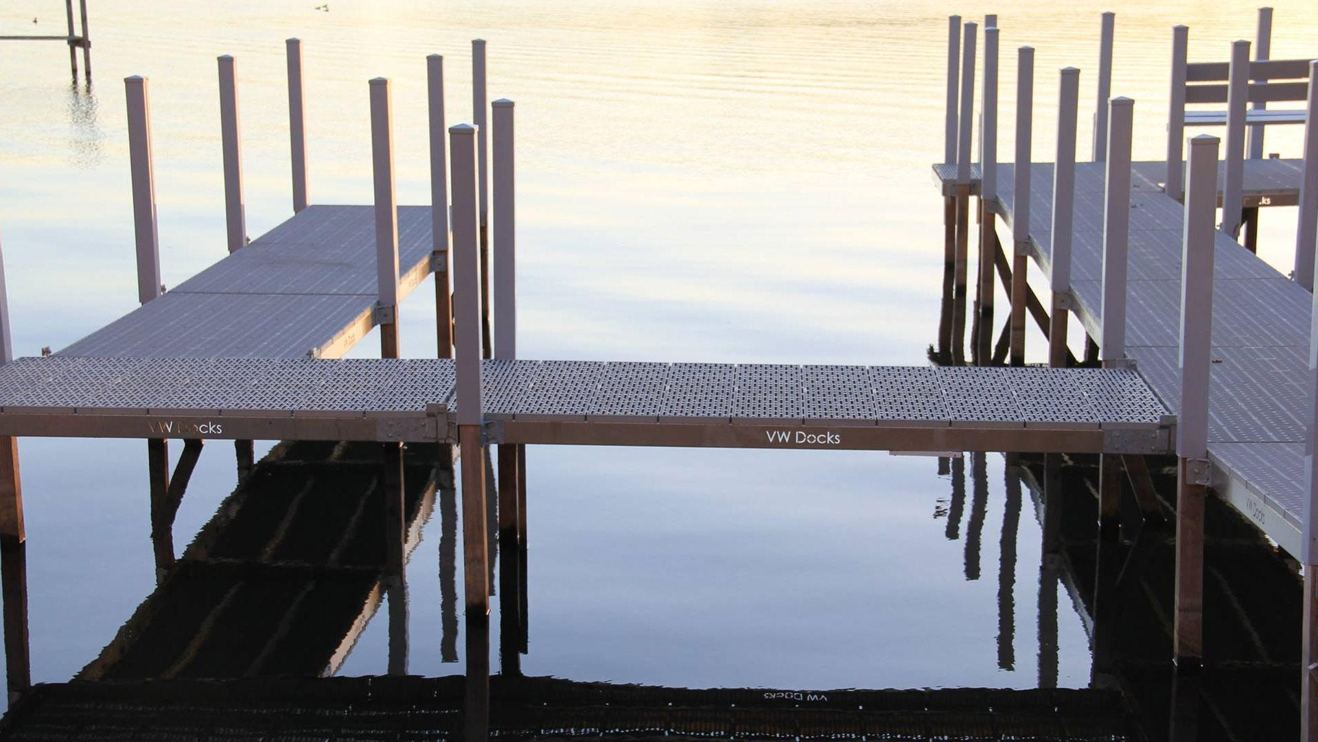 Light Weight Aluminum Sectional Docks