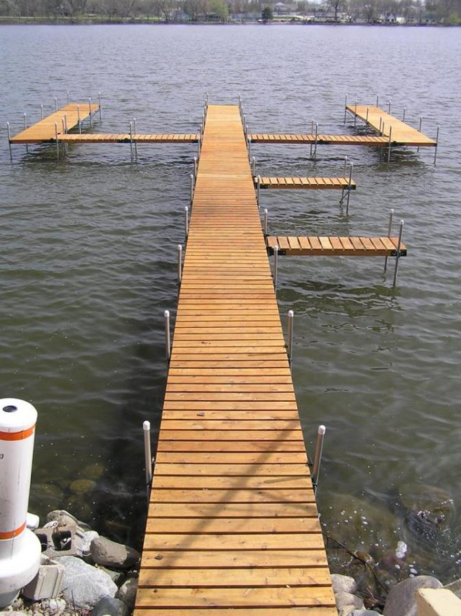 Sectional Wood Docks | VW Docks
