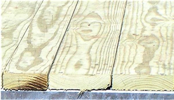 Treated Wood Decking