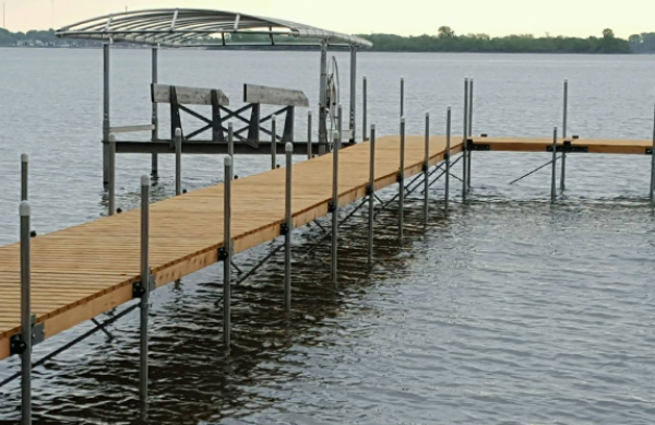 Sectional Wood Docks