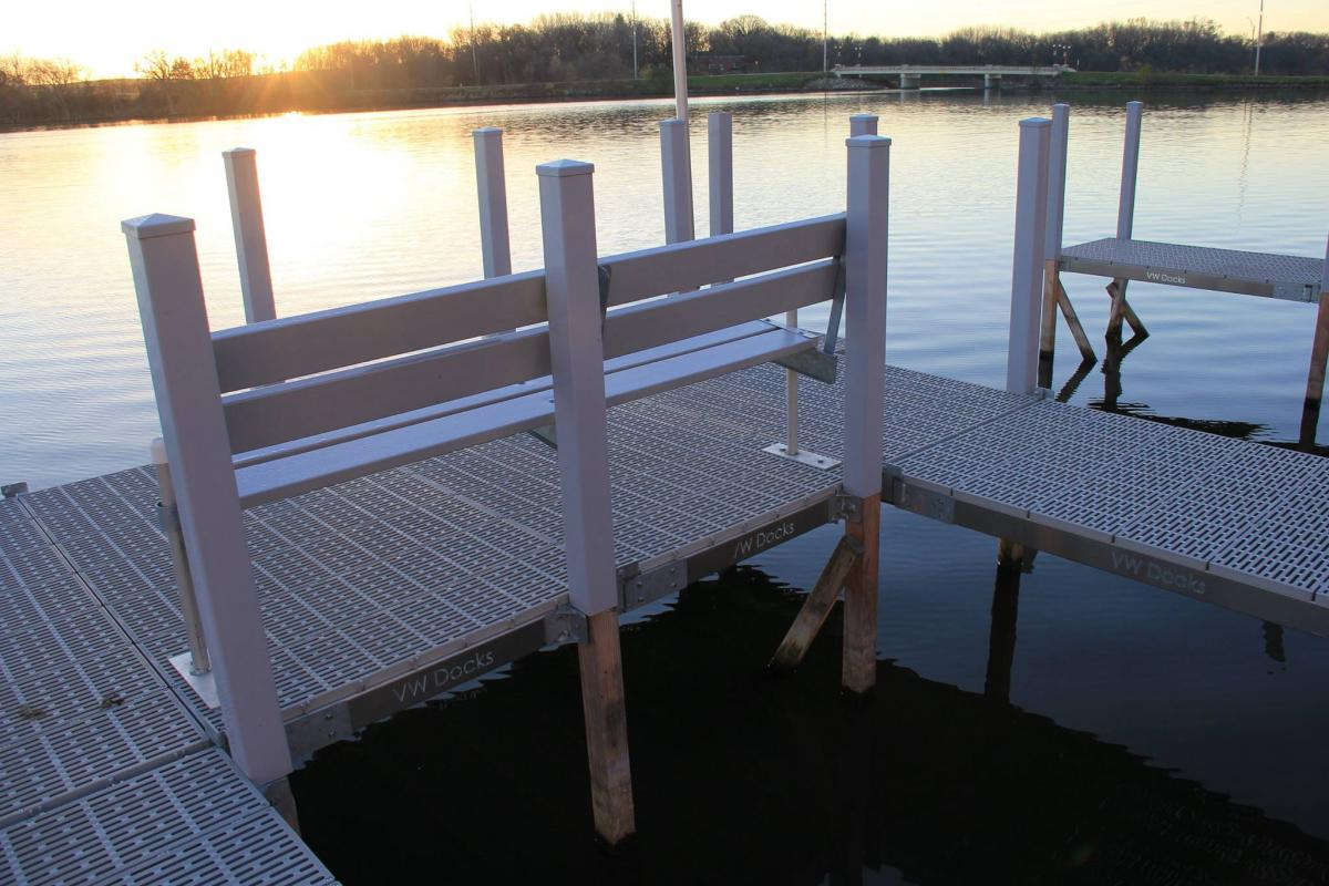 Choose one of these decking materials for a beautiful, low-maintenance boat dock