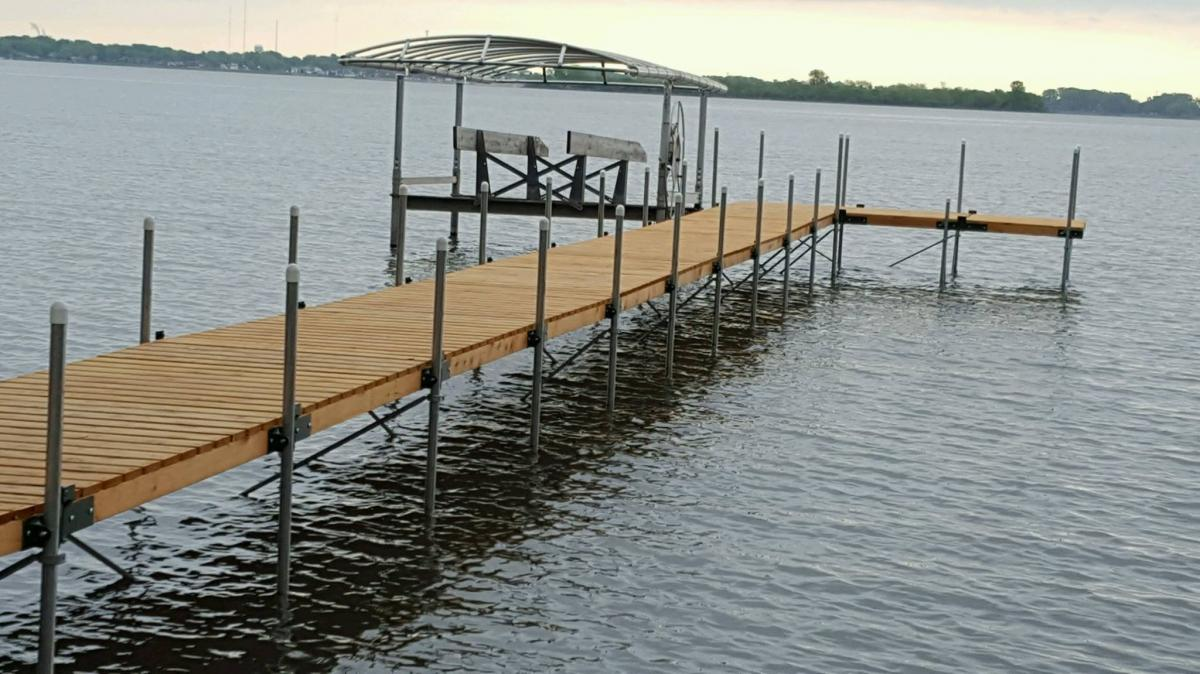 Aluminum, steel or wood: How to decide what material is best for your boat dock